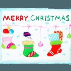 メリークリスマス!!みんな幸せです。