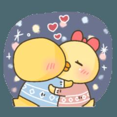 ぴよぴよ夫婦♡冬2