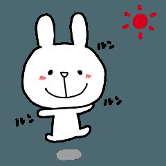 白いうさぎちゃんNo.2