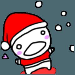 ちびのクリスマス☆(*^-^*)