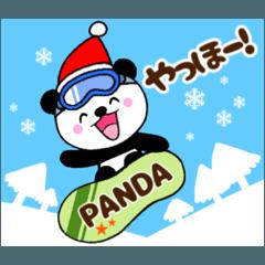 子パンダ夢夢☆冬&クリスマス