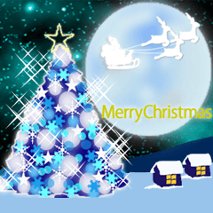 メリークリスマス ☆動く☆