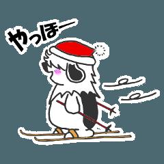 ムク犬オーちゃん冬バージョン