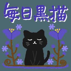 大人かわいい毎日使いたくなる黒猫