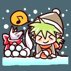 ちくりんの冬遊び