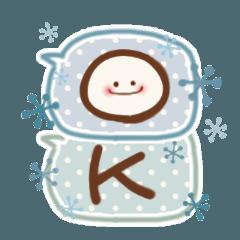 ほっこり☆冬のふきだしスタンプ