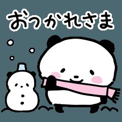 子パンダでちゅ「冬編」