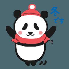ボクパンダ(冬・クリスマス・年末年始)