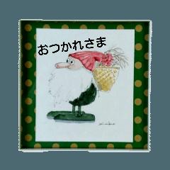 クリスマス4(水彩)