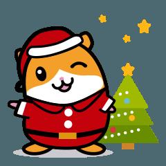 爽快ハムちゃんのクリスマス