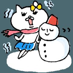 ネコ子(冬)