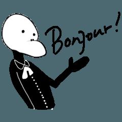 フランス語話者のグレックさん