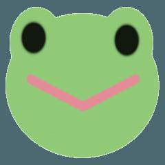 カエル ゴミ