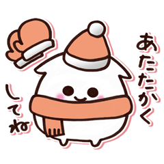 お正月&冬スタンプ【ステッカー風】