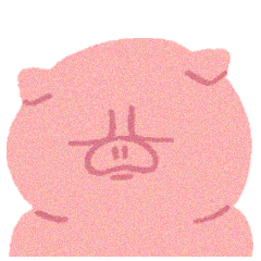 困り顔動物!日常編・ピグちゃん【ぶた】