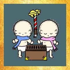 赤ちゃん(年末年始バージョン)