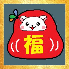 ジャンガリアンハムスター【冬】