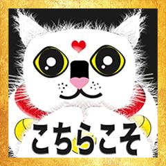 幸運の猫(13J)