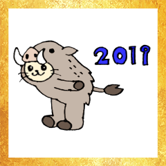 2019年 可愛いねこさんスタンプ3