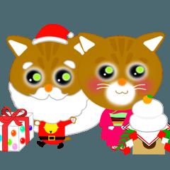 クリスマス&お正月ねこりんちゃん