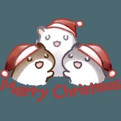 Hamster 4 メリークリスマス!ハムちゃん
