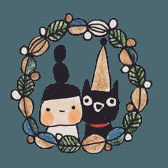 mon と meow の クリスマス と お正月。