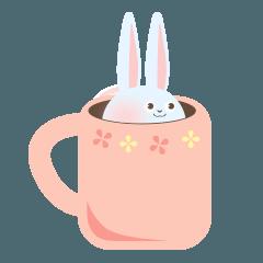 マグカップうさぎ