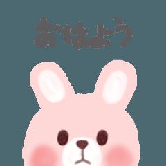素敵なウサギの毎日(日本語)