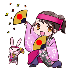 [LINEスタンプ] ヤートセ・よさこいスタンプ (1)
