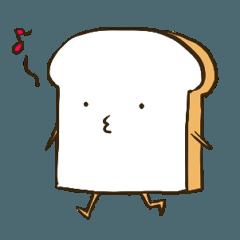 [LINEスタンプ] 歩く食パン (1)