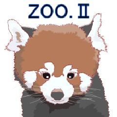 [LINEスタンプ] 動物スタンプ 【 ZOO.Ⅱ】 (1)