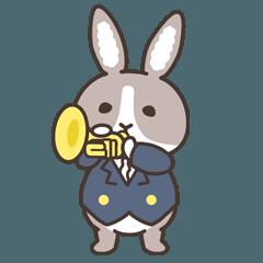 紳士なウサギ「ラッキー」