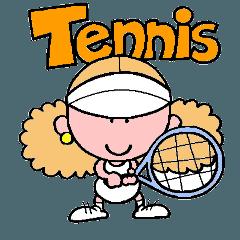 [LINEスタンプ] テニスのネエさん (1)