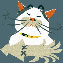 [LINEスタンプ] 猫のヌーン (1)