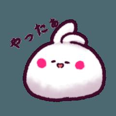 [LINEスタンプ] うさみだいふく (1)