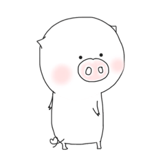 [LINEスタンプ] 気持ちを伝えるハニーぶぅ (1)