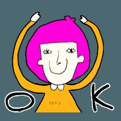 カラフル女子 ONAGO