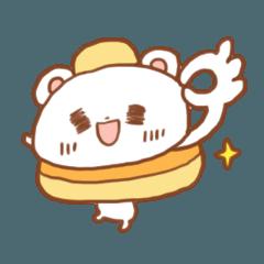 パンケーキクマ シンプル