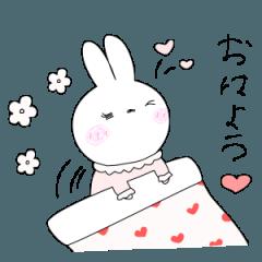 [LINEスタンプ] らびちゃん。Vol.2 (1)
