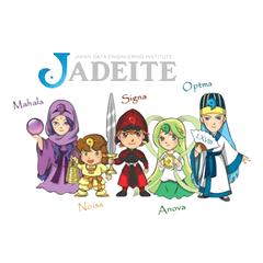 [LINEスタンプ] ジェダイトキャラクターズ (1)