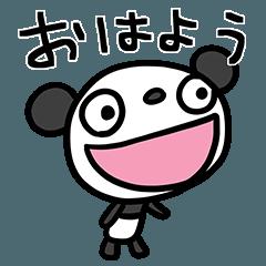 ふんわかパンダ ポップタッチ風