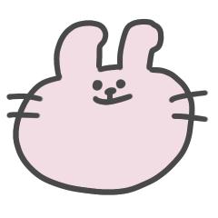 クセが強いウサギ