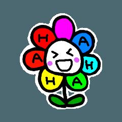 Happy Rainbow Flower 日常英語