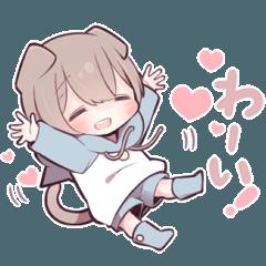 猫少年(スコティッシュフォールド)3