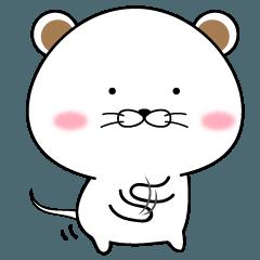 ぼんやり子ネズミ