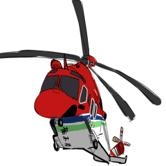 ヘリのスタンプ4