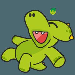 トリケラトプス草食恐竜