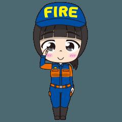 消防団びより(女性団員編)