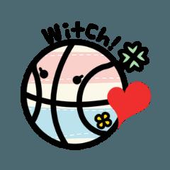 WITCHがいっぱいスタンプ