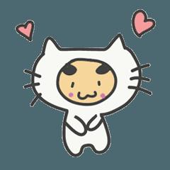 着ぐるみ猫の『ゆめねこ』